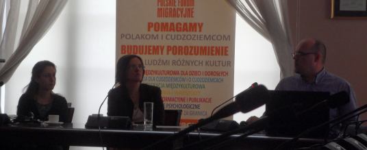 The Polish meeting, deepening the topic of legalization through marriage and children left behind.